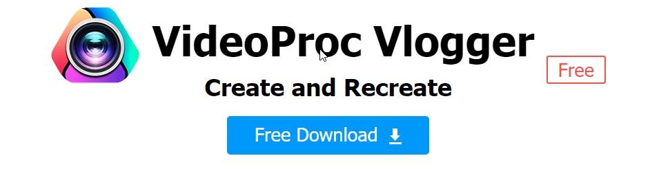 VideoProc Vlogger Free download